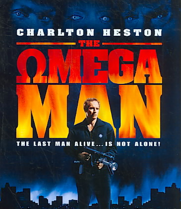 OMEGA MAN BY HESTON,CHARLTON (Blu-Ray)